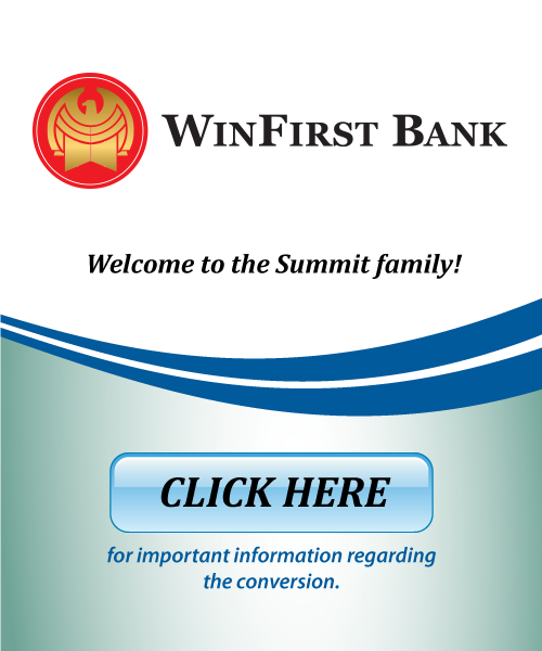 Welcome WInfirst Bank
